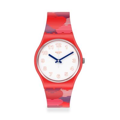 Swatch 原創系列手錶 HEART LOTS 愛滿載-34mm