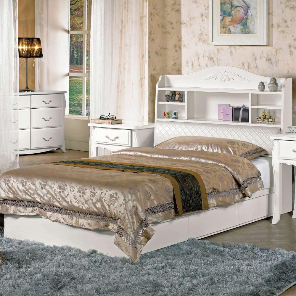 文創集 琳達3.5尺單人床台(床頭+底+不含床墊)-106.5x211x113.5cm免組