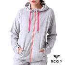 【ROXY】COZY POP FLEECE HOODIE 連帽外套 灰色