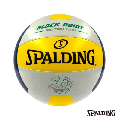 SPALDING Team 排球 黃/藍/白#5