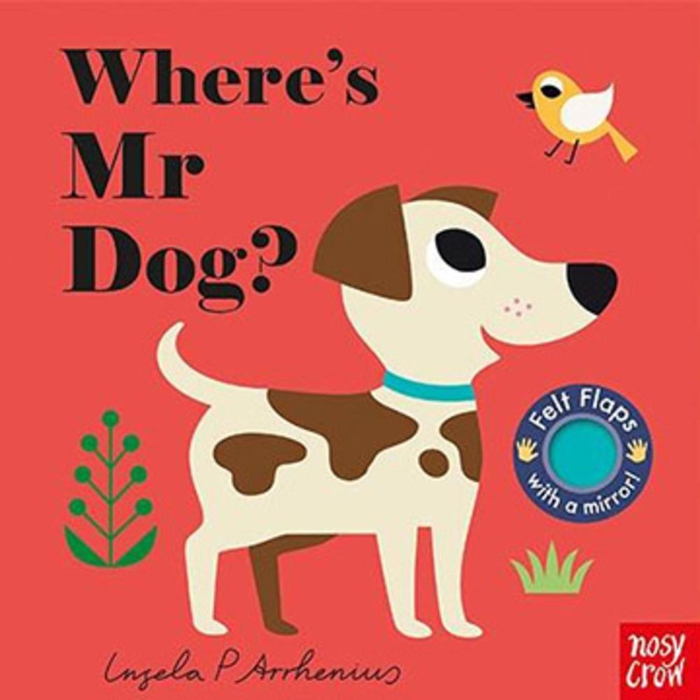 Where's Mr Dog? 小狗在哪裡?不織布翻翻書