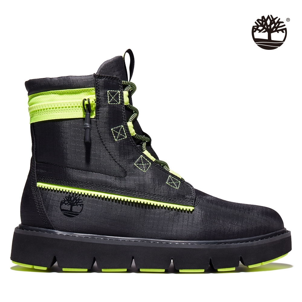 Timberland 男款黑色防撕裂織物6吋靴|A2HFH