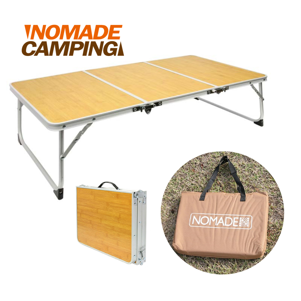 NOMADE 鋁合金戶外便攜三折桌 (長90cm)