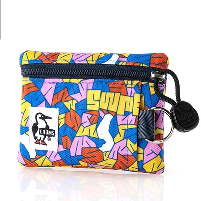 CHUMS Recycle Key Coin Case 男女 鑰匙零錢包 Street Booby-CH603148Z182