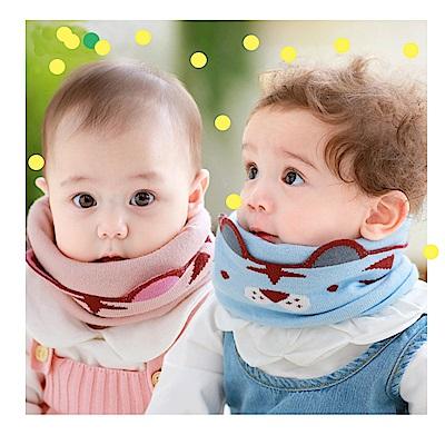 韓版 秋冬寶寶保暖針織兒童圍脖
