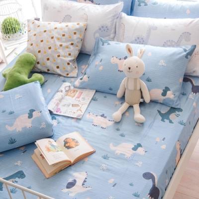 OLIVIA 侏儸紀  特大雙人床包美式枕套三件組 230織天絲TM萊賽爾 台灣製
