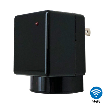 【CHICHIAU】WIFI無線網路高清1080P旋轉鏡頭充電器造型-針孔微型攝影機