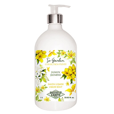 Institut Karite Paris 巴黎乳油木茉莉花園香氛液體皂1000ml
