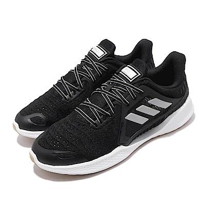 adidas 慢跑鞋 ClimaCool Vent 運動 男女鞋 情侶鞋 愛迪達 三線 路跑 涼感 透氣 輕量 黑 白 EH2775