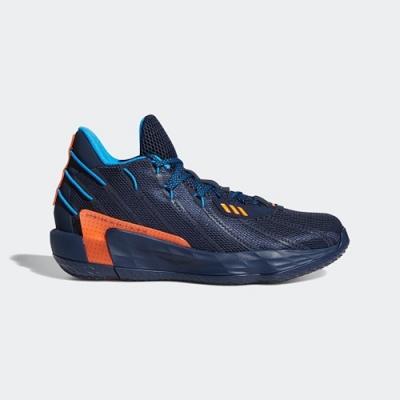 ADIDAS 籃球鞋 里拉德 緩震 包覆 明星款 運動鞋 男鞋 藍 FZ1103 DAME 7 LIGHTS OUT