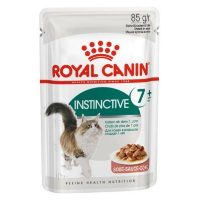 Royal Canin法國皇家 F+7W理想體態貓7+歲齡專用濕糧 85g 12包組
