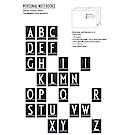 Design Letters 個人特色字母筆記本 A-Z 共26款式