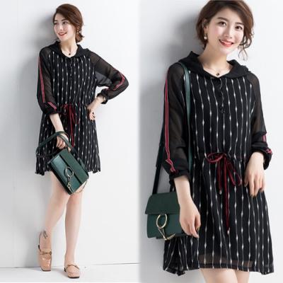 【韓國K.W.】美女系線條質感修身洋裝-2色