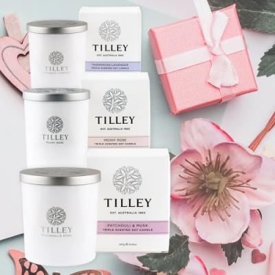 【Tilley 皇家特莉】澳洲原裝微醺大豆香氛蠟燭(共7款可任選)