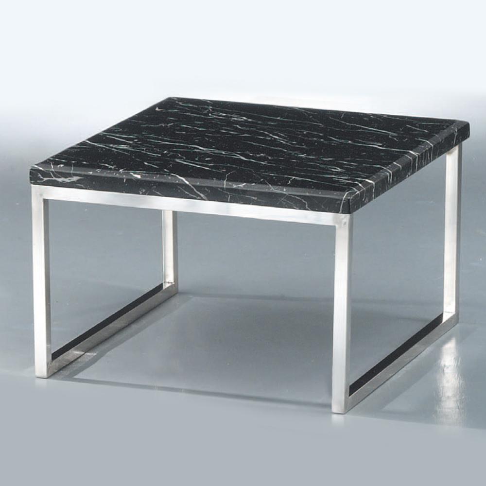Boden-馬里諾2.3尺石面小茶几/邊桌(兩色可選)-70x70x50cm
