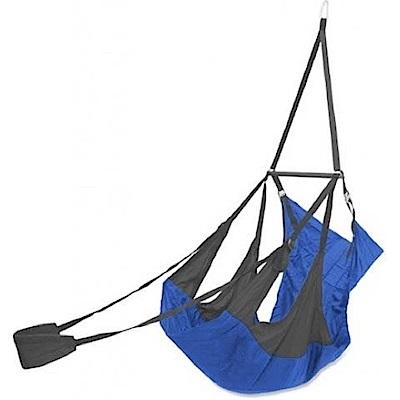 ENO Air Pod Hanging Chair 輕量懶人躺椅 碳灰/皇家藍