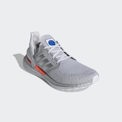 ADIDAS 慢跑鞋 運動鞋 緩震 訓練  男鞋 灰 SPACE RACE ULTRABOOST 20 DNA FX7957