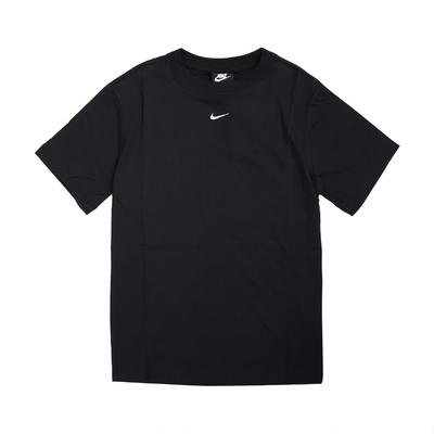 Nike T恤 NSW Essential Top 女款 NSW 運動休閒 基本款 流行 穿搭 黑 白 DH4256010