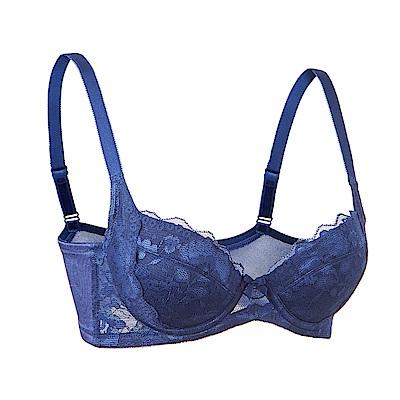黛安芬-機能美型側緣拉提 B-E罩杯內衣(海洋藍)
