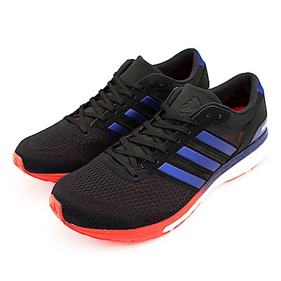 ADIDAS-ADIZERO BOSTON 6男慢跑鞋-黑