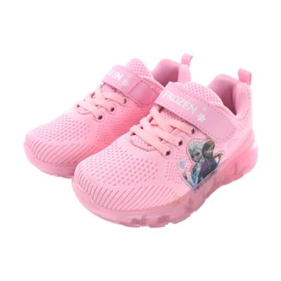 女童迪士尼冰雪奇緣閃燈慢跑運動鞋 sa94463 魔法Baby