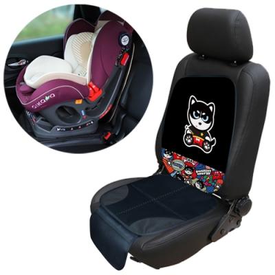 汽車兒童安全座椅防磨墊通用加厚汽車防滑保護墊