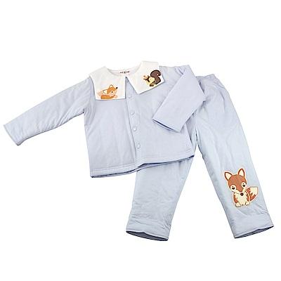 愛的世界 MYBEAR 純棉鋪棉森林家族長袖套裝