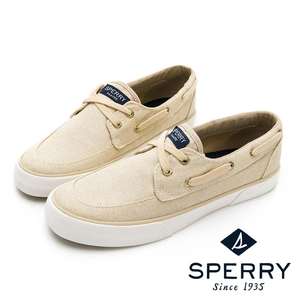 SPERRY CREST BOAT 舒適休閒帆船鞋(女)-金色