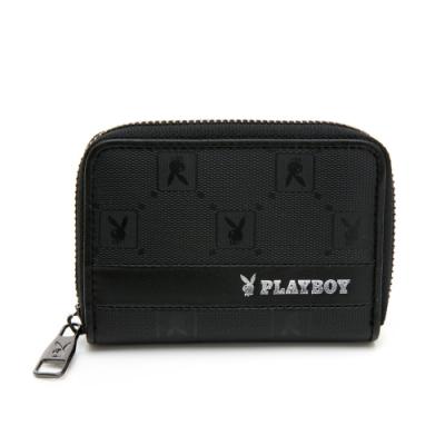 PLAYBOY- 零錢包 黑暗騎士upgrade系列 -黑色