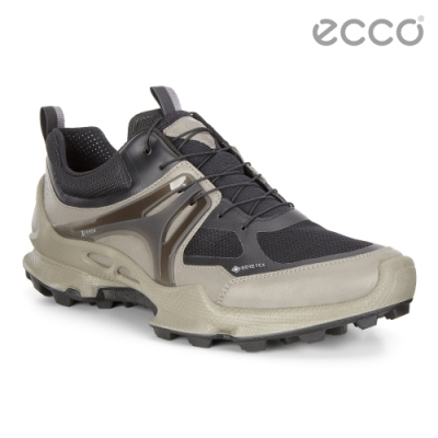 ECCO BIOM C-TRAIL M 縱橫越野健步運動鞋 男-暖灰/黑