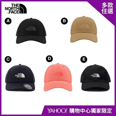 【The North Face】YAHOO人氣組合-盛夏全新男女款戶外必搭帽款-5款任選