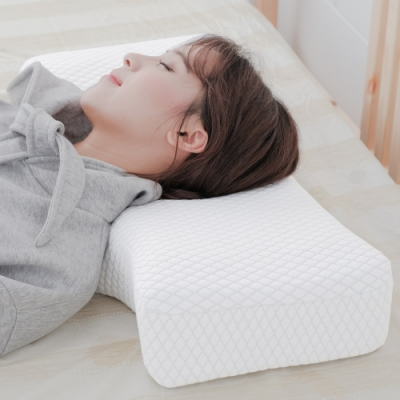 米夢家居 內凹保健深度睡眠止鼾-護耳灌模記憶中高枕
