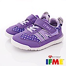 IFME健康機能鞋 超輕運動款 EI70701紫(小童段)