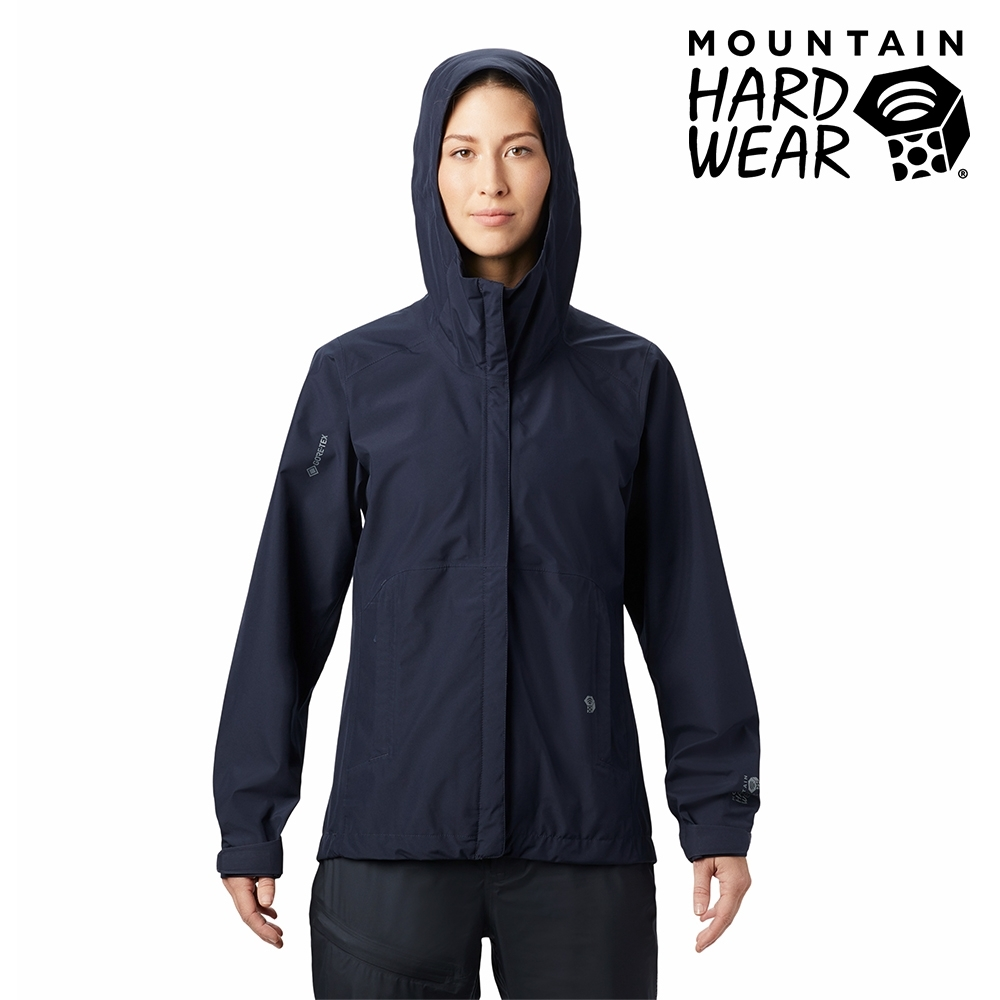 【美國 Mountain Hardwear】Exposure2 Gore-Tex Paclite Jacket GTX輕量防水連帽外套 女款 深鋅 #1881731