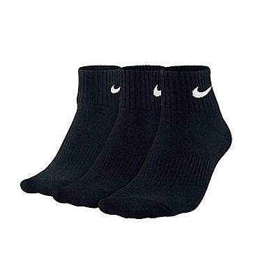 Nike 短襪 SX4703-001 厚款毛巾底 (三雙一組)x3組