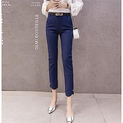 IMStyle 韓版修身顯瘦休閒西裝褲(三色)