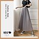 UGIZ-顯瘦高腰鬆緊雪紡百摺闊腿褲裙-4色(S-XL) product thumbnail 1
