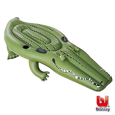 凡太奇 Bestway 兇猛巨鱷鱷魚充氣坐騎/浮排/助浮 41096 - 速