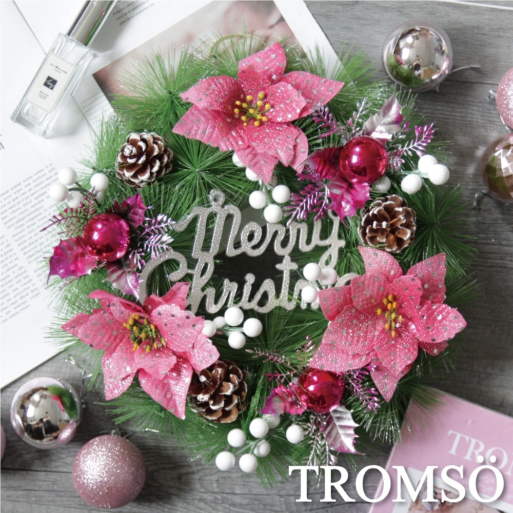 TROMSO北歐聖誕花圈