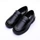 艾樂跑Arriba女款 直套式皮鞋 學生鞋-黑 (AB-6814)