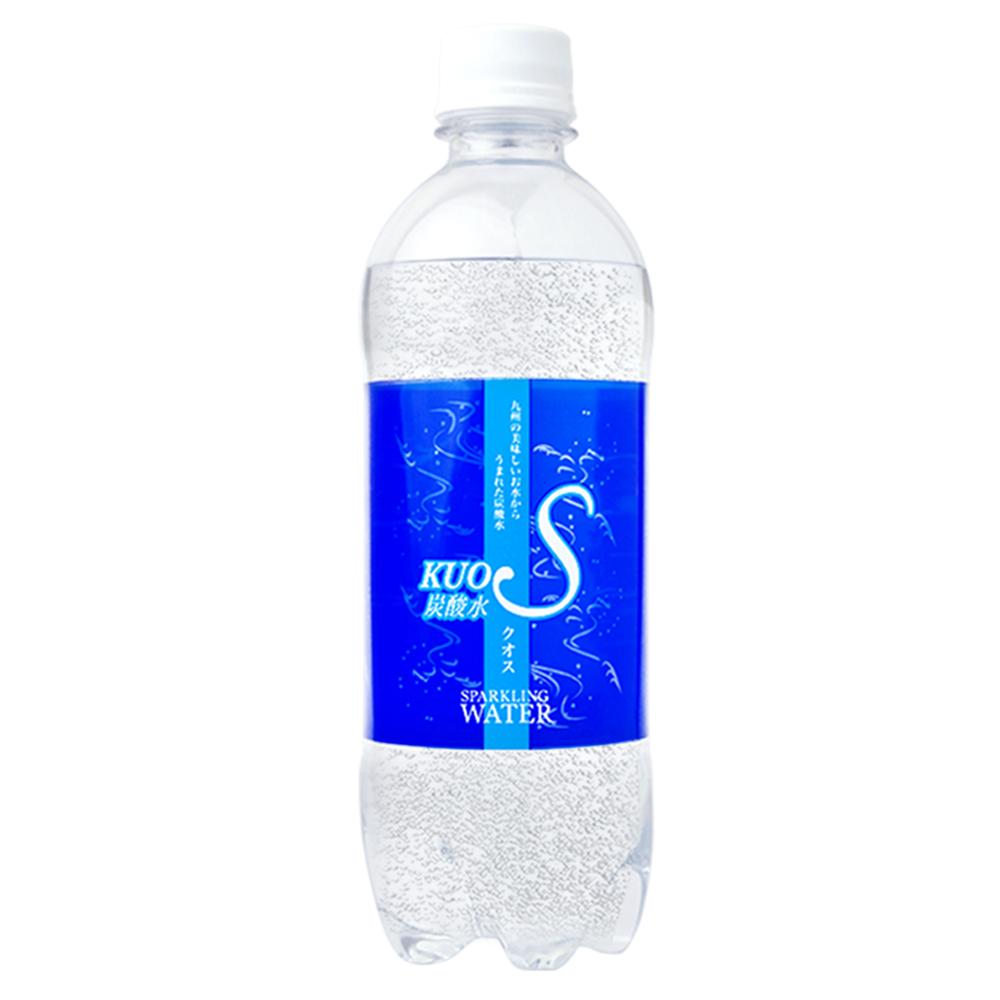 KUOS酷氏 氣泡水(500mlx24瓶)