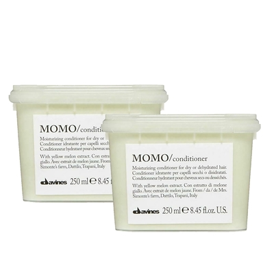 Davines達芬尼斯(特芬莉) MOMO甘露水潤輕髮膜 250ml (2入) 乾燥髮質適用