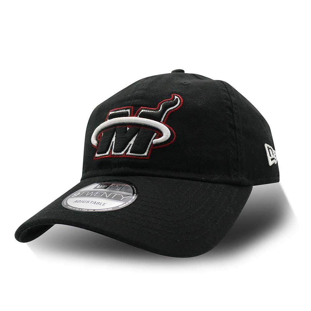 New Era 920 NBA Black Half棒球帽 熱火隊