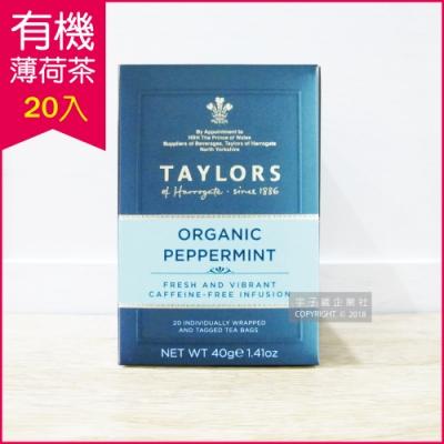 英國皇家泰勒茶Taylors 有機薄荷茶(20包/盒)