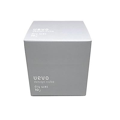 日本 Demi 卵殼膜彩色造型積木髮蠟 10-2 (灰積木) 80g