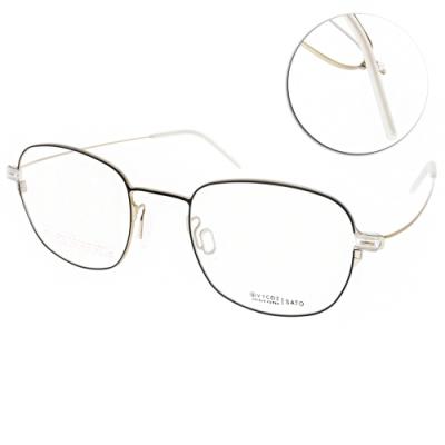 VYCOZ眼鏡 輕量簡約方框款 /黑-金 #SATO BLKGD