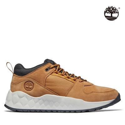 Timberland 男款小麥色Solar Wave磨砂革低筒休閒鞋 A2H6V231