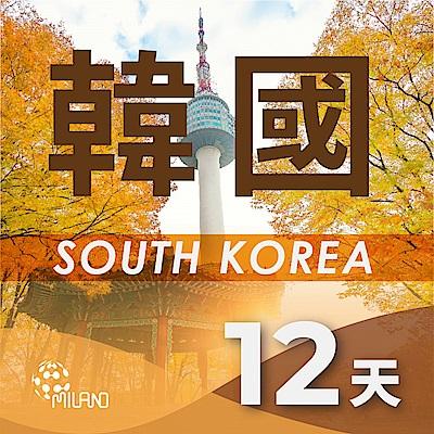 【PEKO】韓國上網卡 12日高速4G上網 無限量吃到飽 優良品質