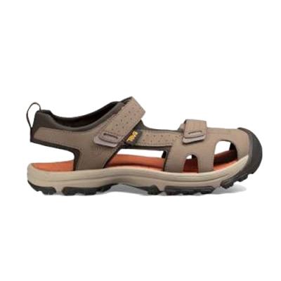 TEVA Hurricane Toe Pro 護趾水陸機能涼鞋 核桃棕 中童