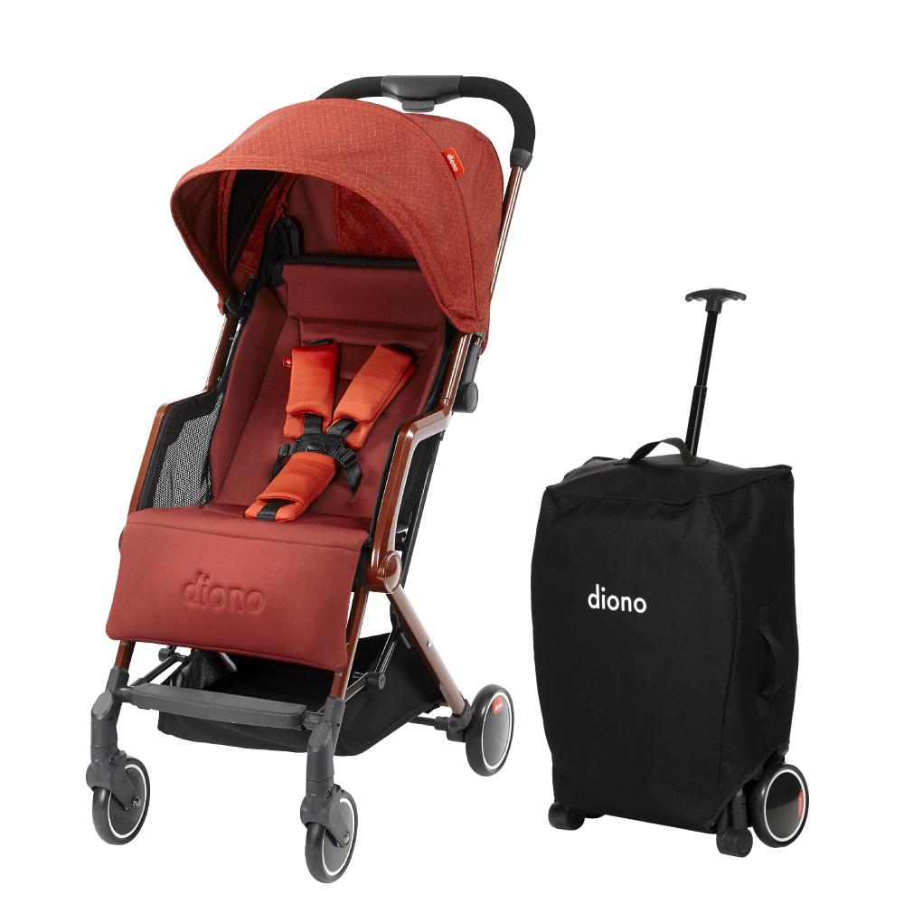 美國 【 Diono Traverze 】 TT 車,銅立方 - 輕便型行李式秒收嬰幼兒推車 @ Y!購物